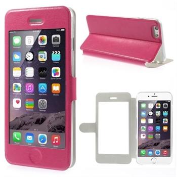 Image of   Apple iPhone 6/6s Plus Full Window Flip Cover - Rosa