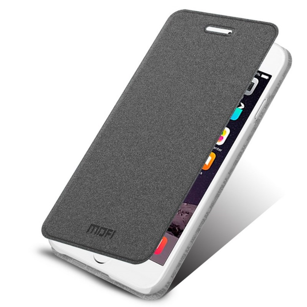 Image of   Apple iPhone 6/6s MOFI Rui Folio Cover - Mørk Grå
