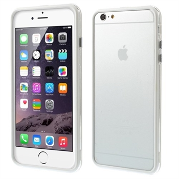 Image of   Apple iPhone 6/6s Plus inCover Gummi Bumper - Hvid