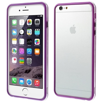 Image of   Apple iPhone 6/6s Plus inCover Gummi Bumper - Lilla