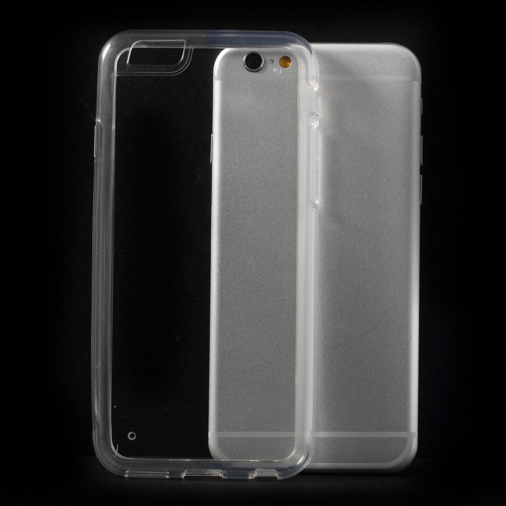 Image of   Apple iPhone 6/6s TPU Hybrid Anti-Slip Cover - Gennemsigtig