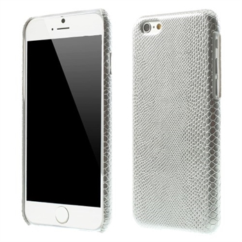 Image of   Apple iPhone 6/6s inCover Design Plastik Cover - Lizard Sølv