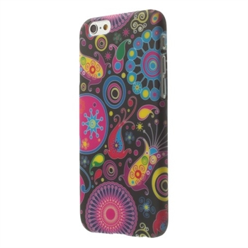 Image of   Apple iPhone 6/6s inCover Design Plastik Cover - Paisley Flowers
