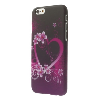 Image of   Apple iPhone 6/6s inCover Design Plastik Cover - Heart
