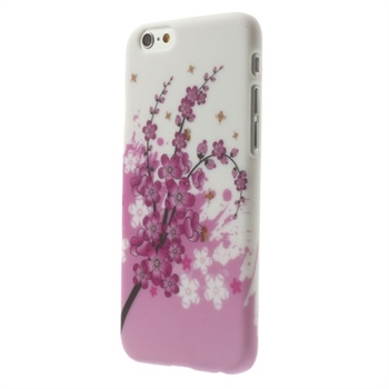 Image of   Apple iPhone 6/6s inCover Design Plastik Cover - Plum Blossom