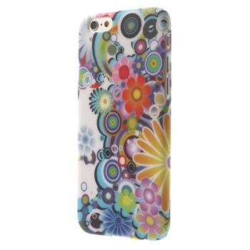 Image of   Apple iPhone 6/6s inCover Design Plastik Cover - Flower Power