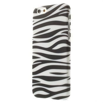 Image of   Apple iPhone 6/6s inCover Design Plastik Cover - Zebra