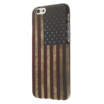 Image of   Apple iPhone 6/6s inCover Design Plastik Cover - Stars & Stripes