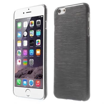 Image of   Apple iPhone 6/6s Plus inCover Brushed Plastik Cover - Sort