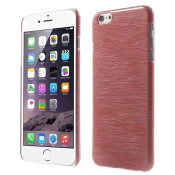 Image of   Apple iPhone 6/6s Plus inCover Brushed Plastik Cover - Rød