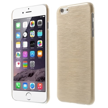 Image of   Apple iPhone 6/6s Plus inCover Brushed Plastik Cover - Guld