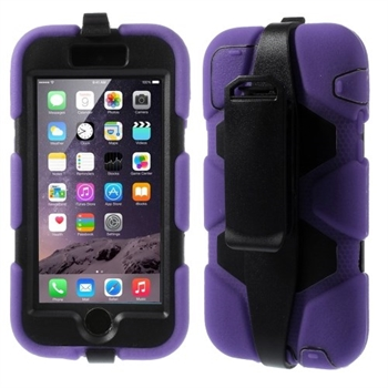 Apple iPhone 6/6s Heavy Duty Cover - Lilla