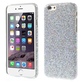Image of   Apple iPhone 6/6s inCover Design Plastik Cover - Glitter Sølv