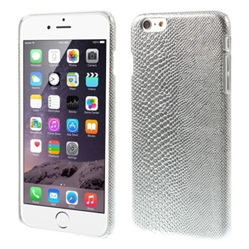 Image of   Apple iPhone 6/6s Plus inCover Design Plastik Cover - Lizard Sølv