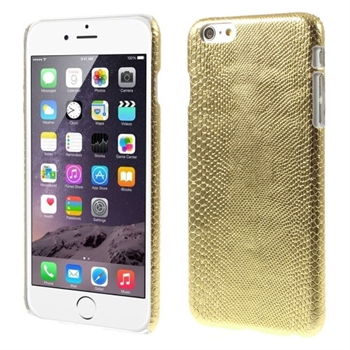 Image of   Apple iPhone 6/6s Plus inCover Design Plastik Cover - Lizard Guld