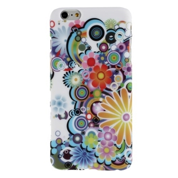 Image of   Apple iPhone 6/6s Plus inCover Design Plastik Cover - Flower Power