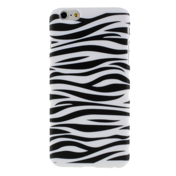 Image of   Apple iPhone 6/6s Plus inCover Design Plastik Cover - Zebra