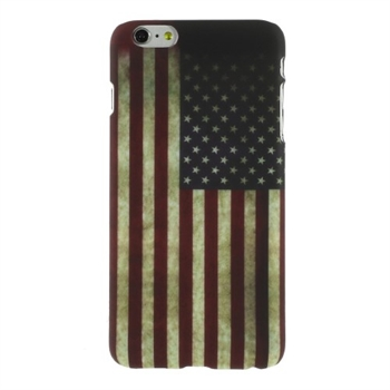 Image of   Apple iPhone 6/6s Plus inCover Design Plastik Cover - Stars & Stripes