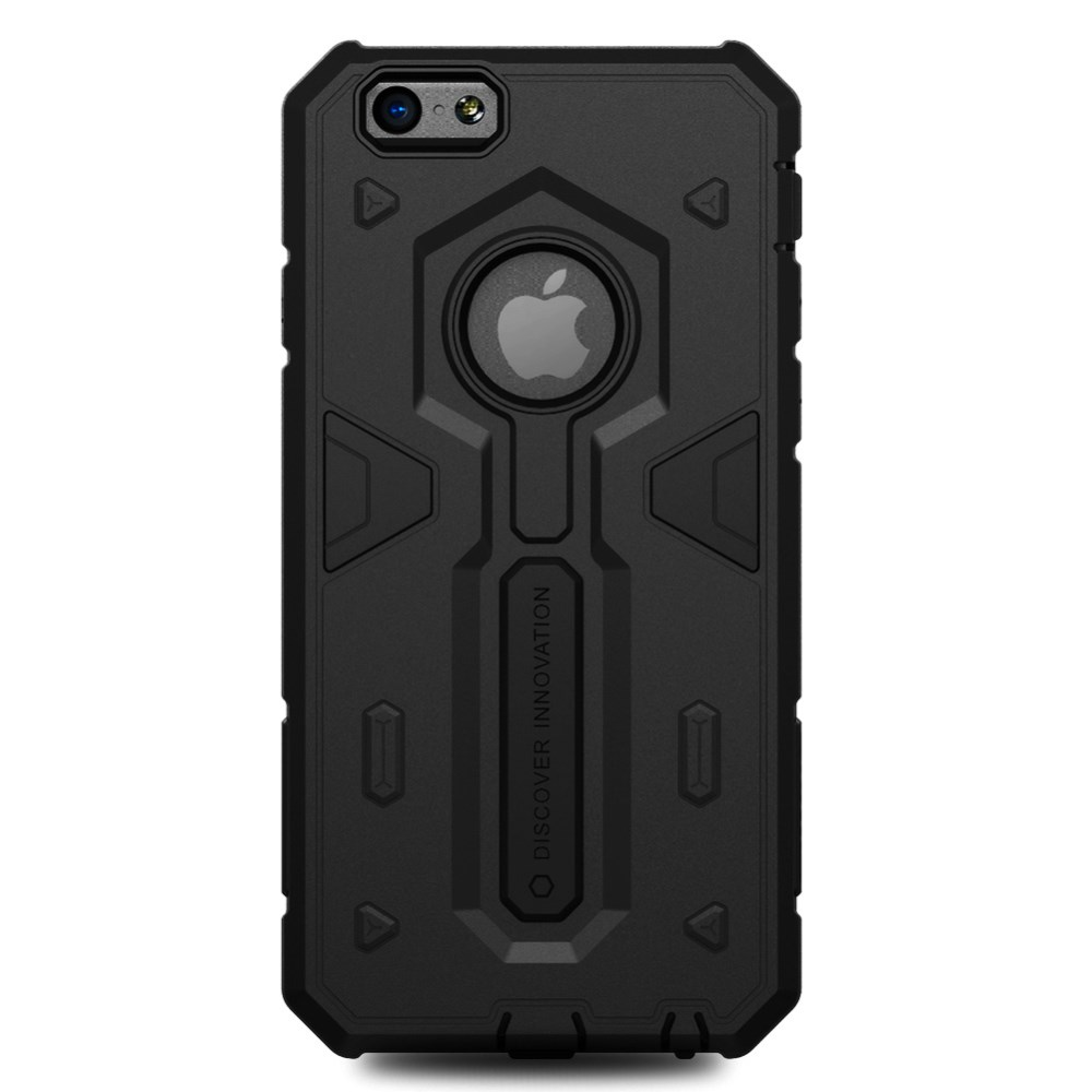 NILLKIN Defender II Heavy Duty Cover til iPhone 6/6s - Sort