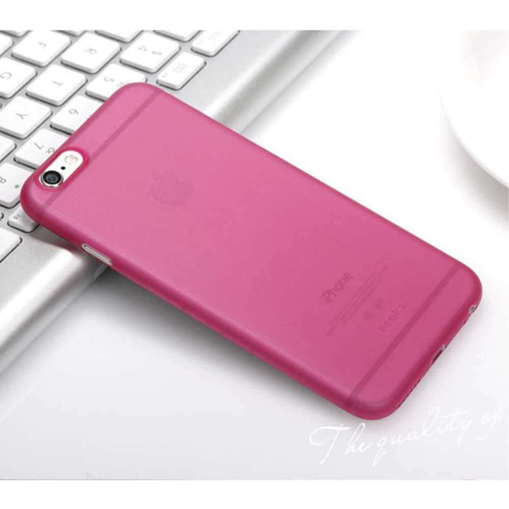 Billede af BENKS Magic Ultra Thin iPhone 6/6s Plastik Cover - Pink