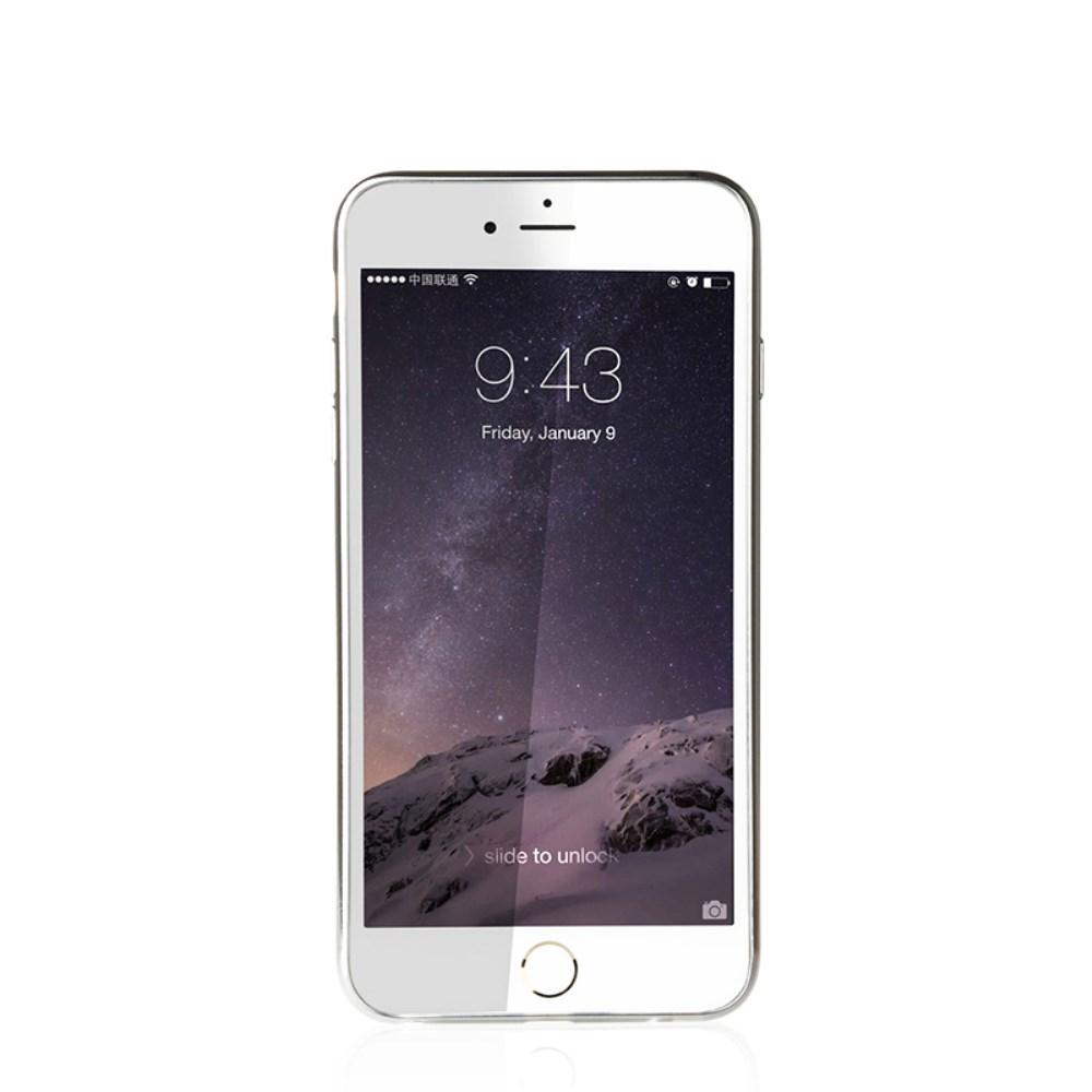 Billede af iPhone 6/6s BASEUS Slim TPU Hybrid Cover - Sølv