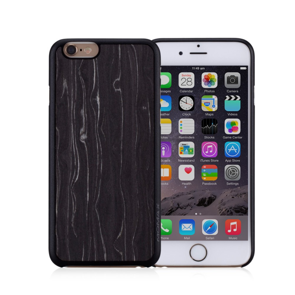 Image of   Apple iPhone 6/6s MOMAX Plastik TræCover - Sort