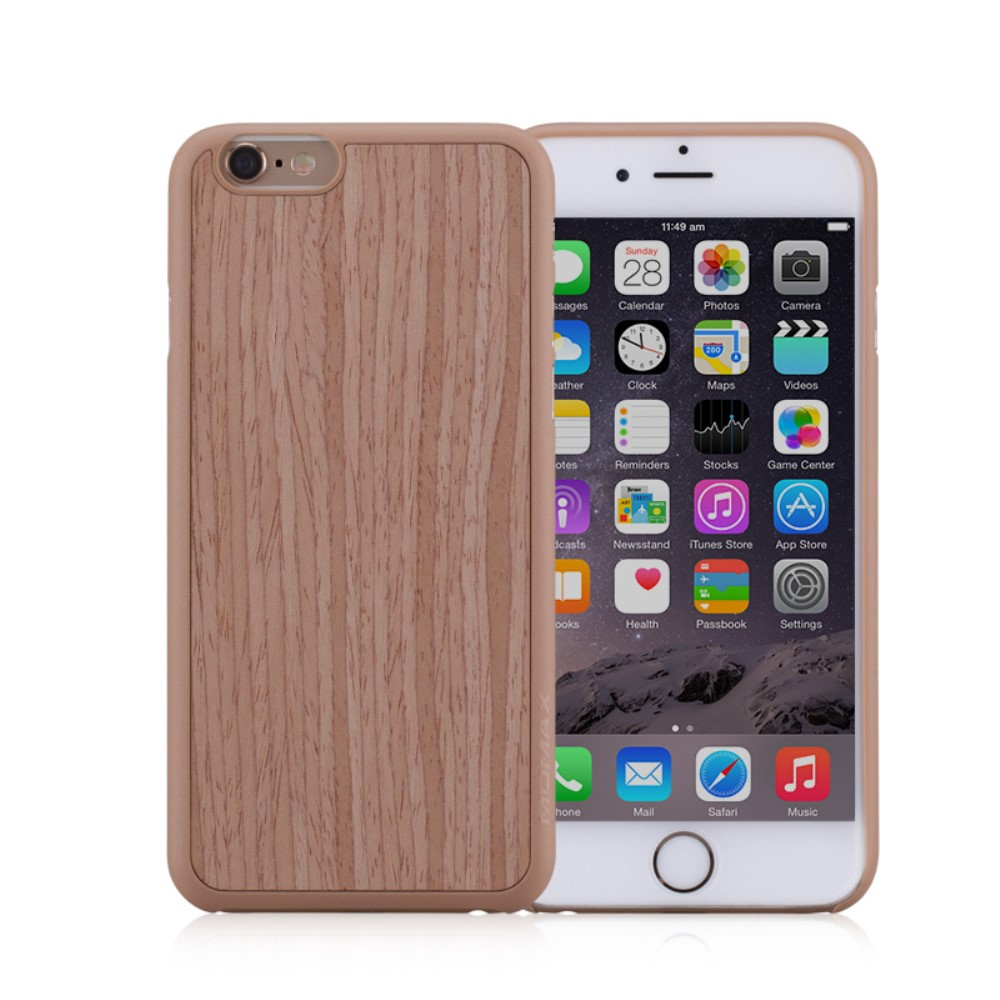 Image of   Apple iPhone 6/6s MOMAX Plastik TræCover - Khaki