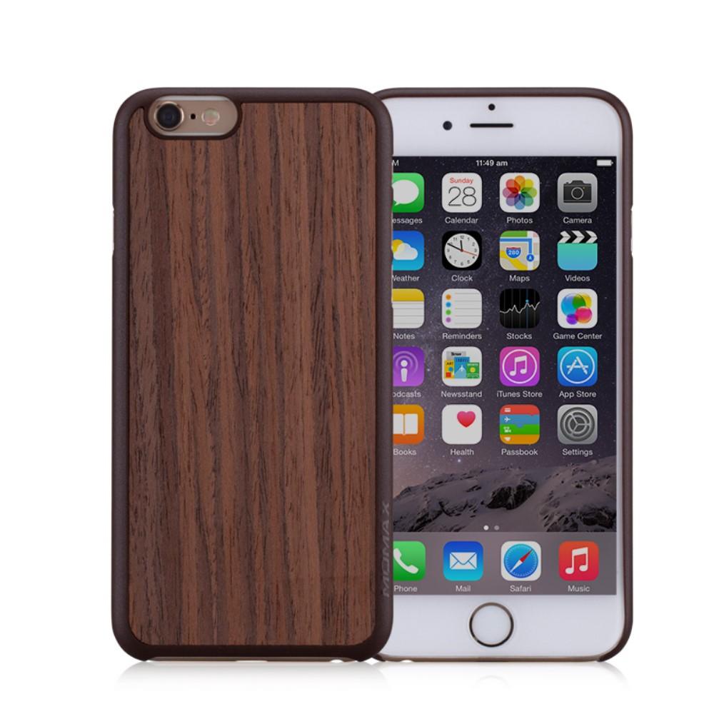 Image of   Apple iPhone 6/6s MOMAX Plastik TræCover - Brun
