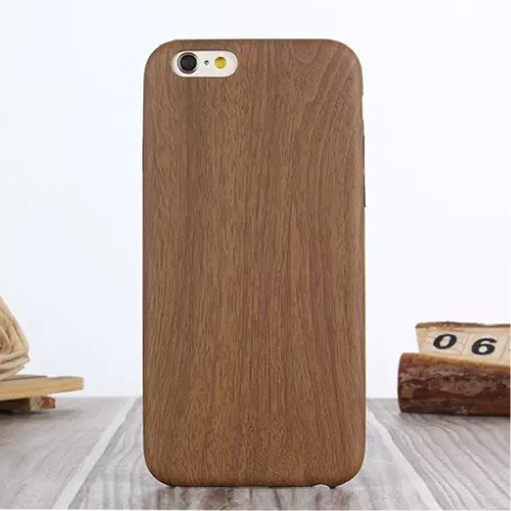 Image of   Apple iPhone 6/6s InCover TPU TræCover - Brun