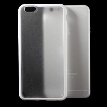 Image of   Apple iPhone 6/6s Plus TPU Edge Hybrid Cover - Hvid