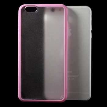 Image of   Apple iPhone 6/6s Plus TPU Edge Hybrid Cover - Pink