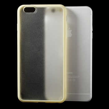 Image of   Apple iPhone 6/6s Plus TPU Edge Hybrid Cover - Gul