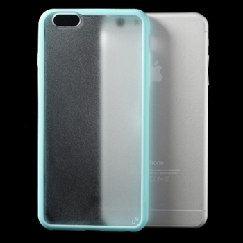 Image of   Apple iPhone 6/6s Plus TPU Edge Hybrid Cover - Blå
