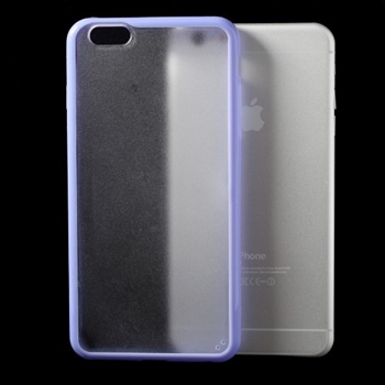 Image of   Apple iPhone 6/6s Plus TPU Edge Hybrid Cover - Lilla