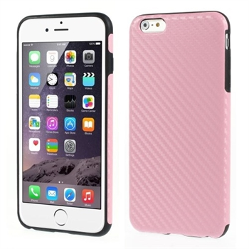 Image of   Apple iPhone 6/6s Plus inCover Design TPU Cover - Carbon Pink