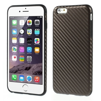Image of   Apple iPhone 6/6s Plus inCover Design TPU Cover - Carbon Brun