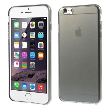 Image of   Apple iPhone 6/6s Plus inCover Slim TPU Cover - Grå