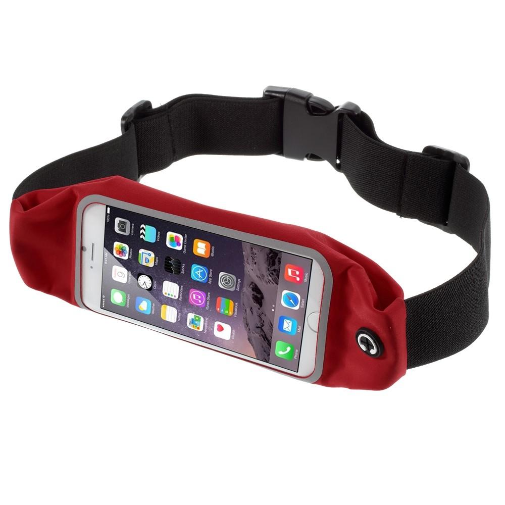 Image of Apple iPhone 6 Plus og 7 Plus Sports Løbebælte - Rød