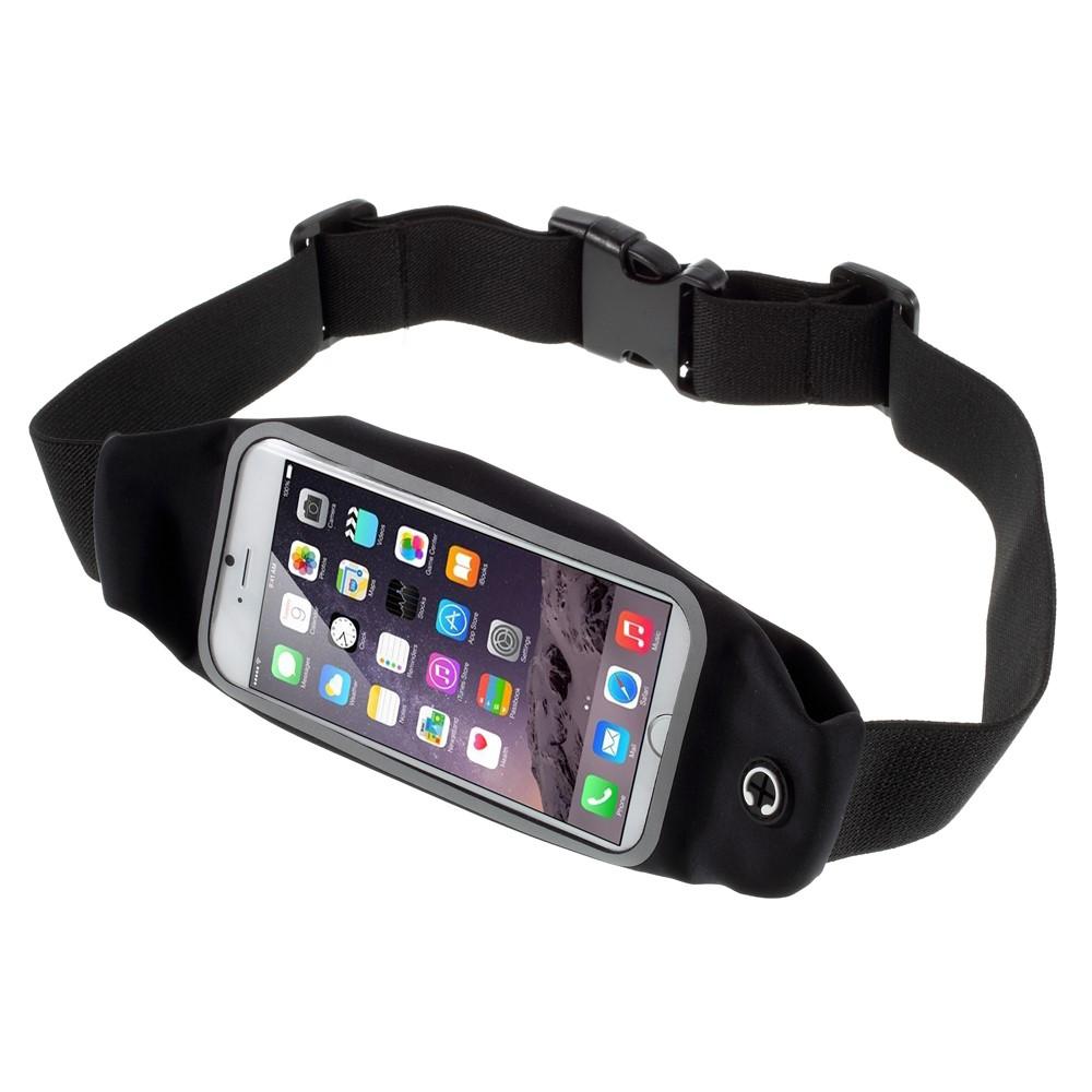 Apple iPhone 6 og 7 Sports Løbebælte - Sort