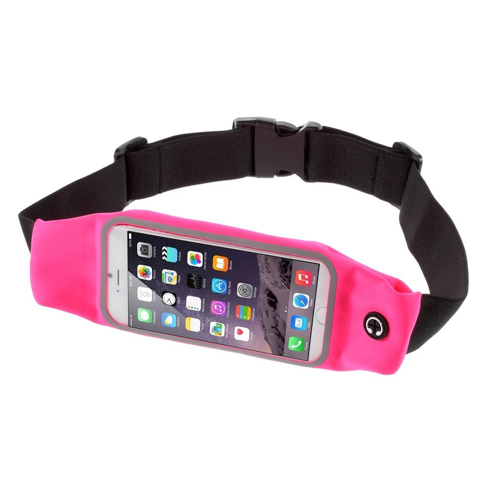 Apple iPhone 6 og 7 Sports Løbebælte - Pink