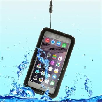 Image of   Apple iPhone 6/6s Plus Vandtæt Heavy Duty Cover - Sort