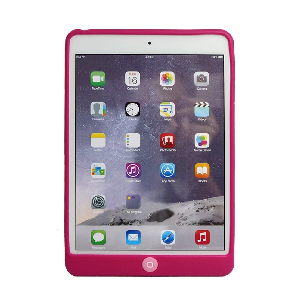 Billede af Apple iPad Mini 4 inCover Silikone Cover m. Homeknap Beskyttelse - Pink