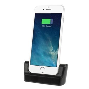 Apple iPhone 6/6s Plus Dock & Bordlader - Sort