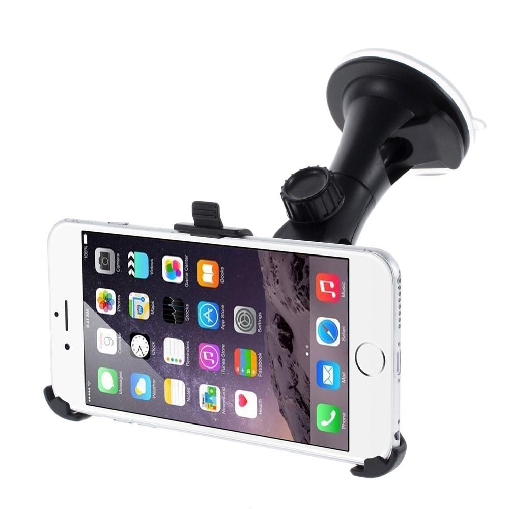 Image of   Apple iPhone 6/6s Plus 360 Graders Bilholder m. Sugekop
