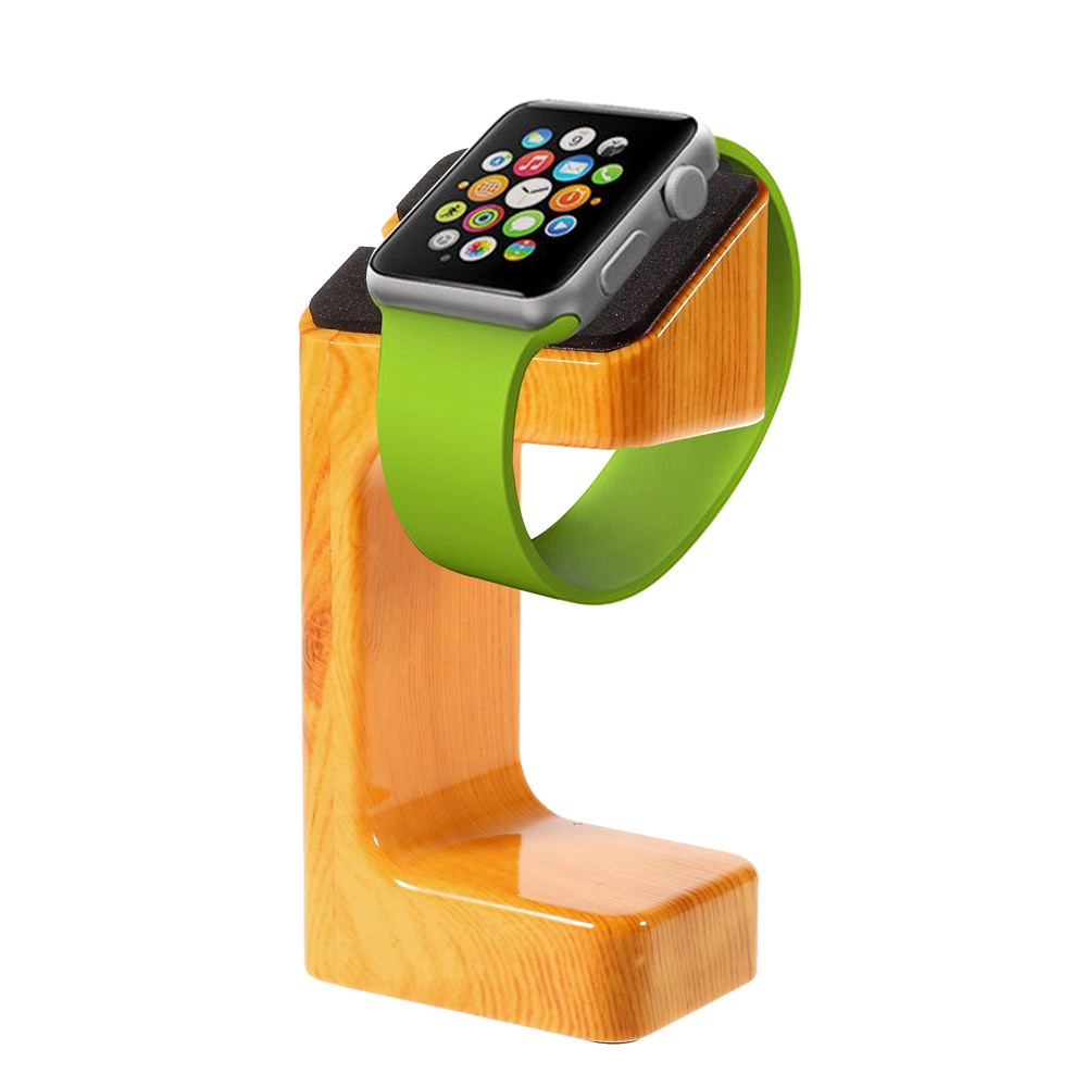 Image of Apple Watch Træ Lade Stand - Lys