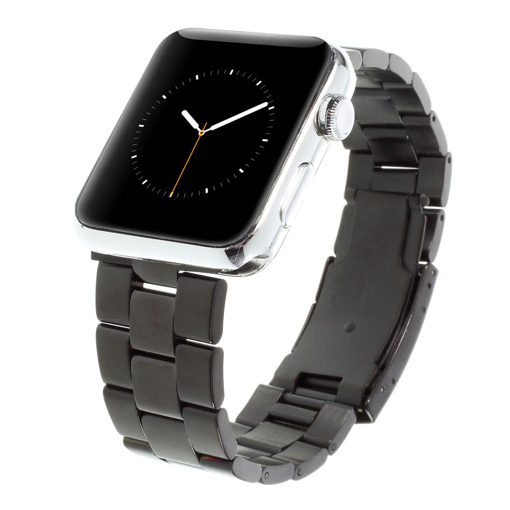Image of   Apple Watch 42-44mm Klassisk Metal Rem - Sort