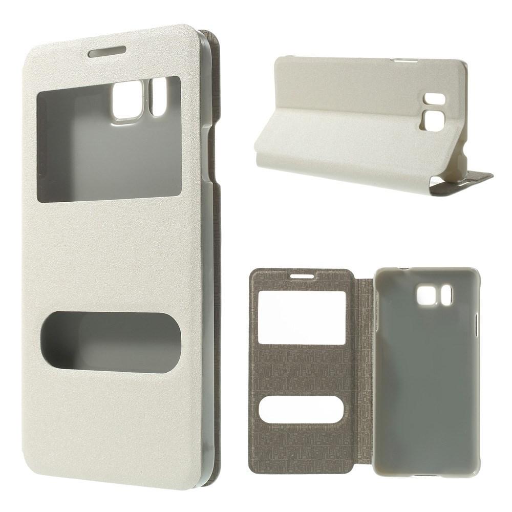 Billede af Samsung Galaxy Alpha Smart Cover m. Stand & Vindue - Hvid