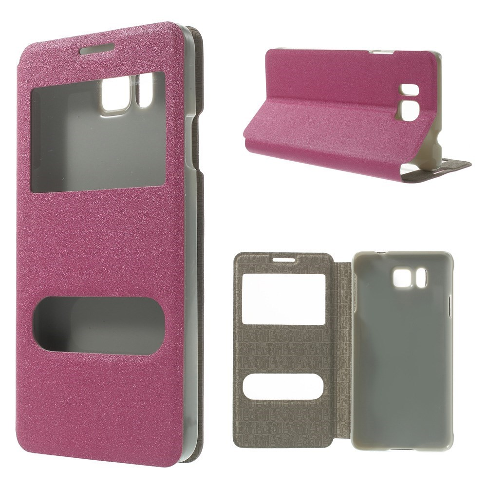 Billede af Samsung Galaxy Alpha Smart Cover m. Stand & Vindue - Pink