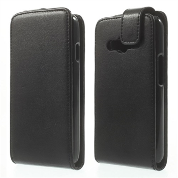 Image of Samsung Galaxy Ace 4 LTE Style Flip Cover - Sort