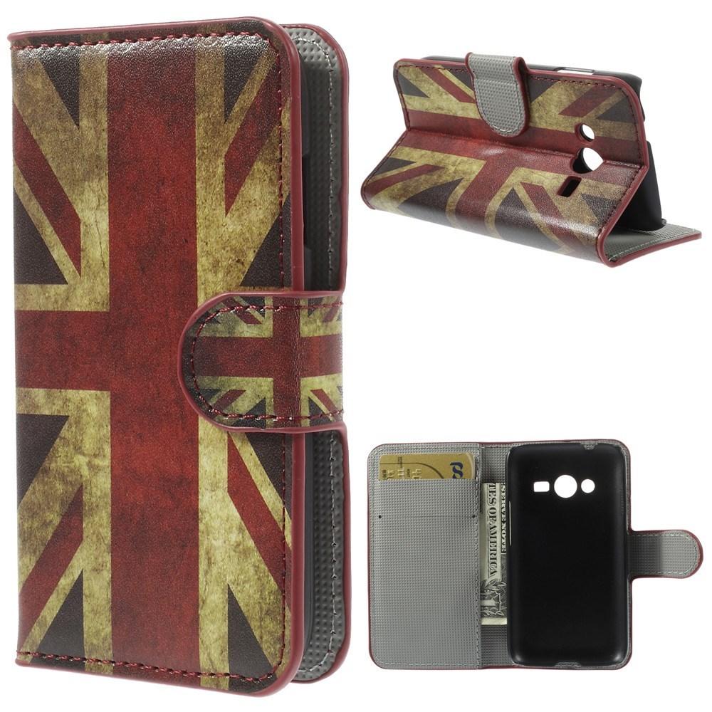 Billede af Samsung Galaxy Trend 2 / 2 Lite Design Flip Cover m. Stand - Union Jack
